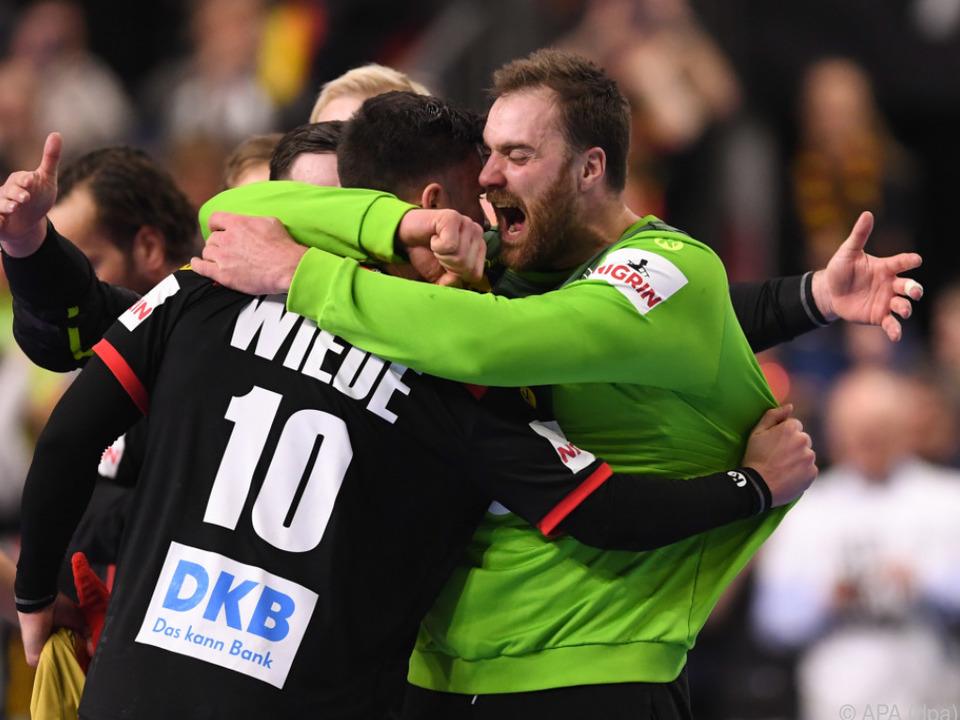 Halbfinale! Grenzenlose Freude bei Deutschlands Handballern