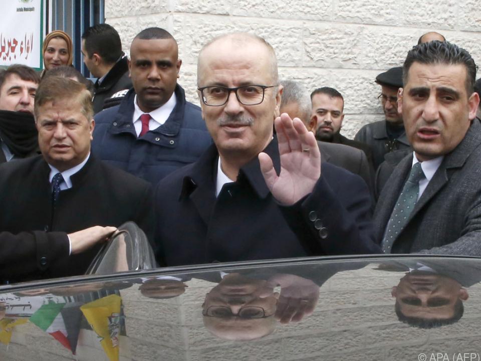 Hamdallah wird noch die Übergangsregierung leiten