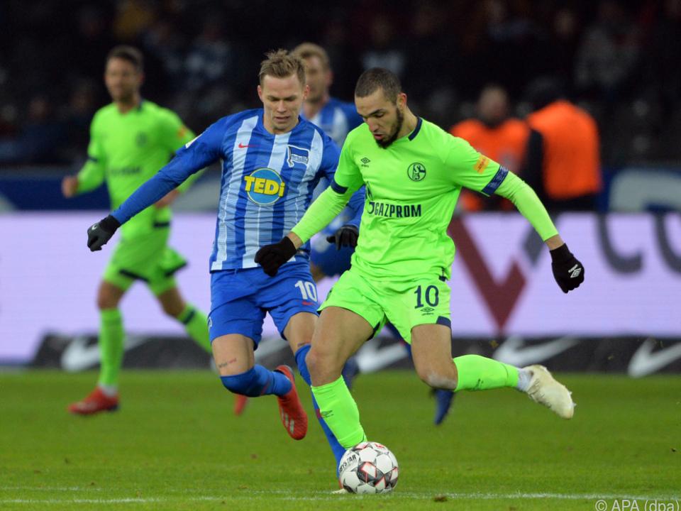 Hertha und Schalke trennten sich unentschieden