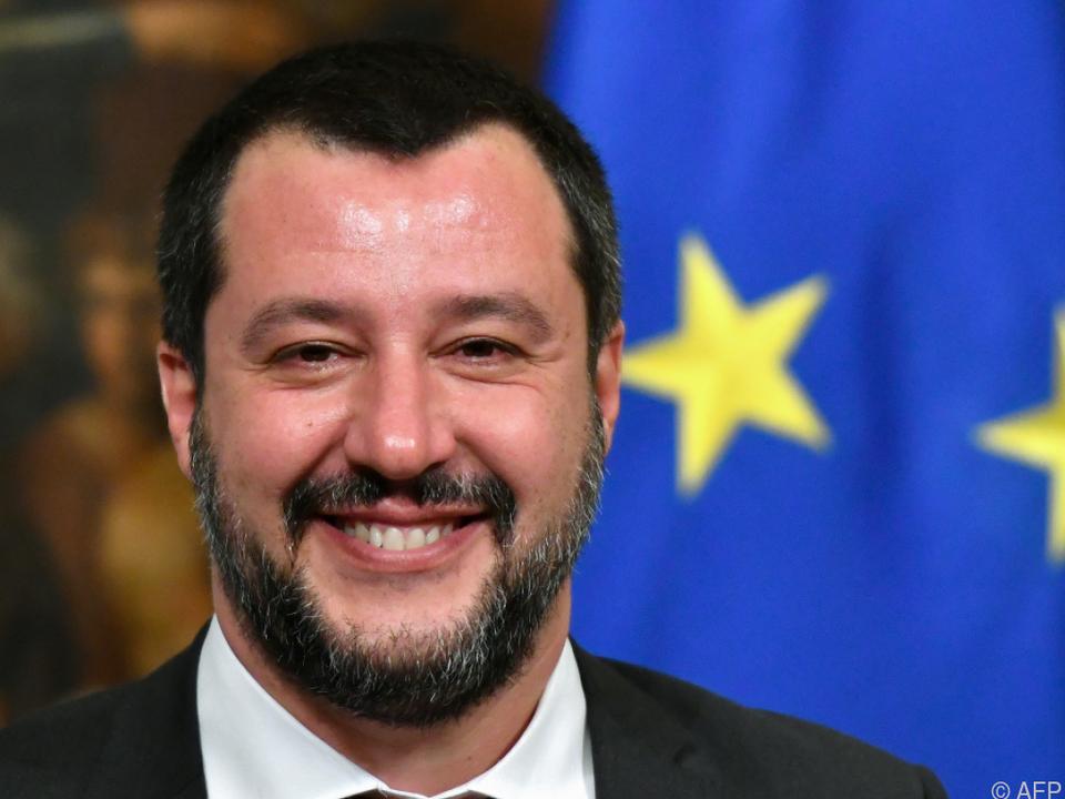 Italiens Innenminister Salvini will seine Meinung nicht ändern