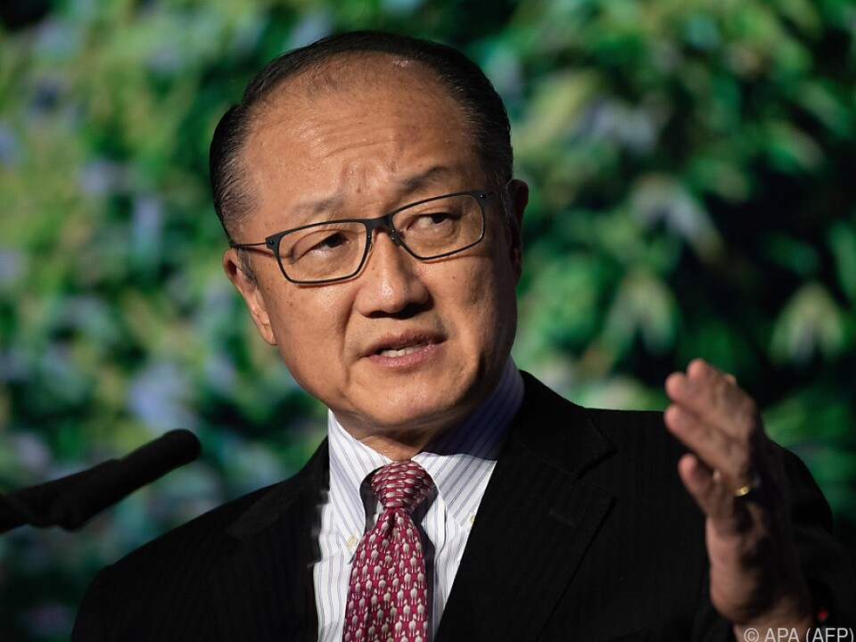 Jim Yong Kim räumt seinen Posten mit Ende Jänner