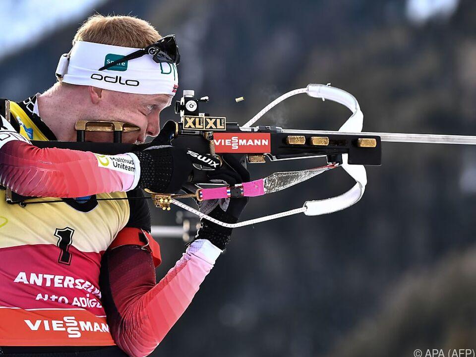 Johannes Thingnes Bö im Biathlon-Weltcup nicht zu stoppen