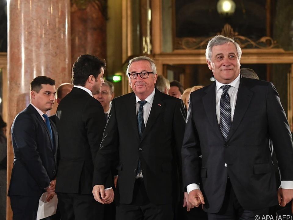 Juncker bedauerte entstehenden Riss durch Europa