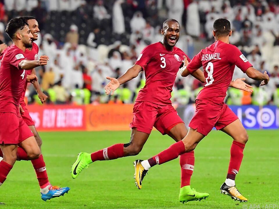 Katar ist einer der Finalisten des Asien-Cups