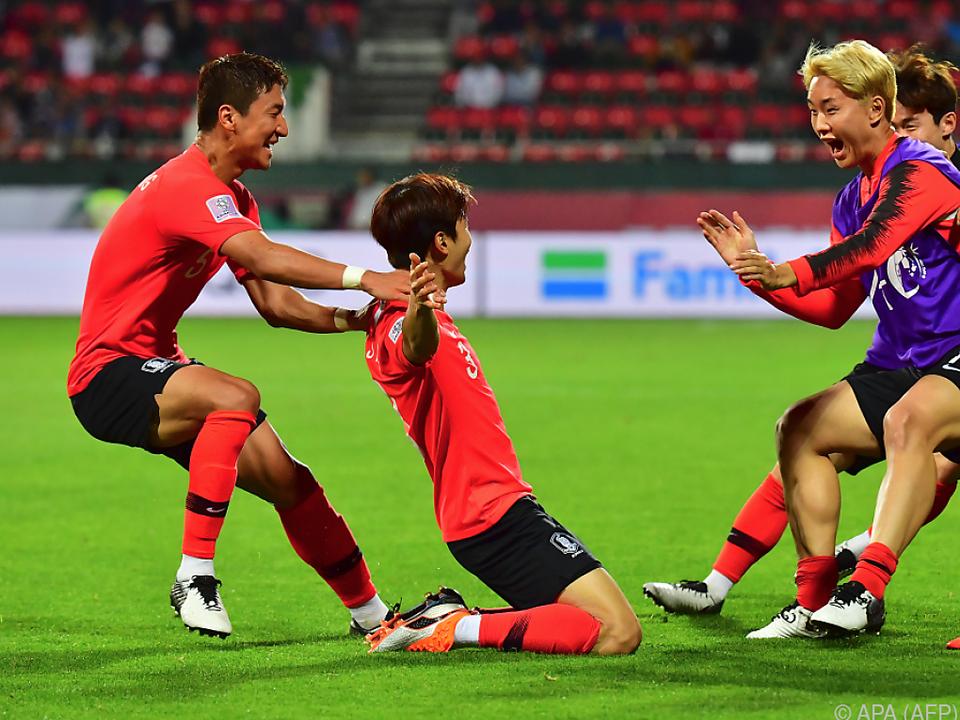 Kim Jin-su sorgte für den entscheidenden Treffer in der Verlängerung