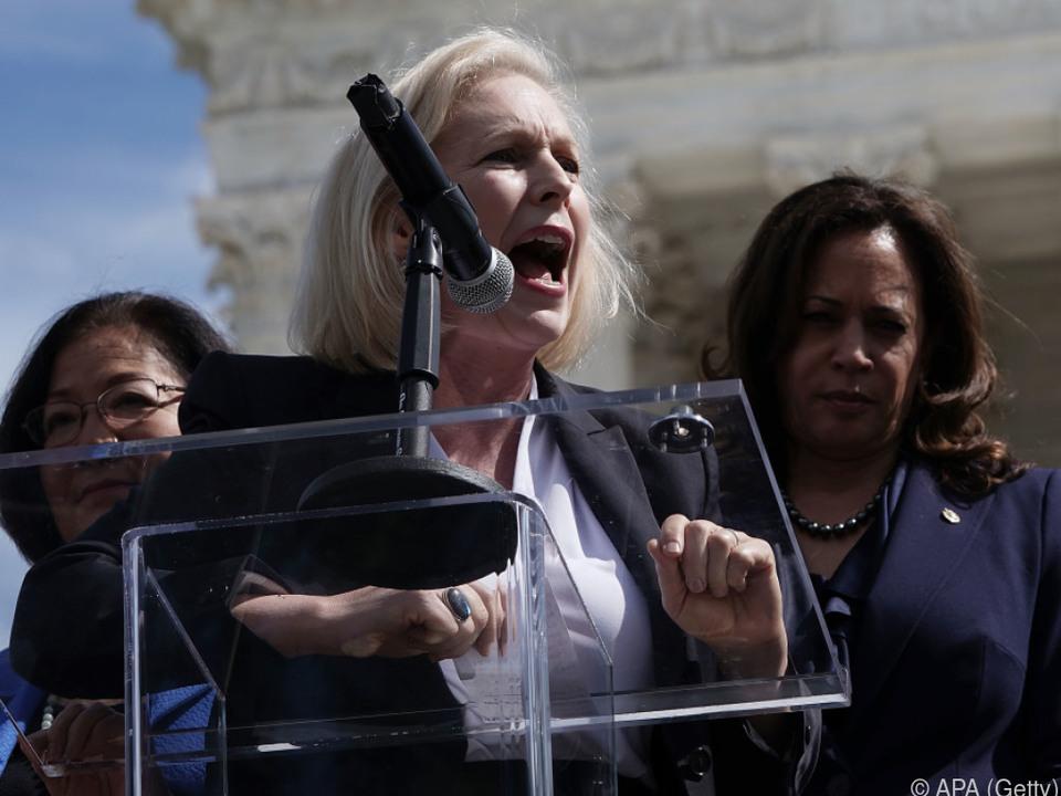 Kirsten Gillibrand kämpft gegen Gewalt an Frauen