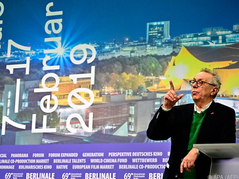 Kosslick bestreitet heuer die letzte Berlinale unter seiner Leitung