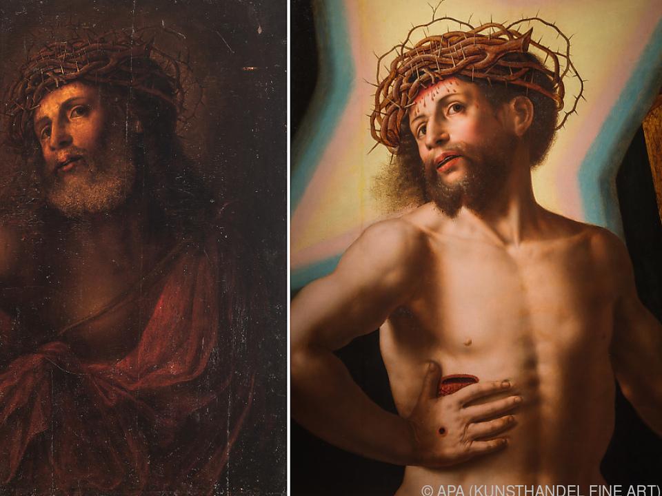 Kunsthändlerin Apovnik entdeckte das verborgene Bild