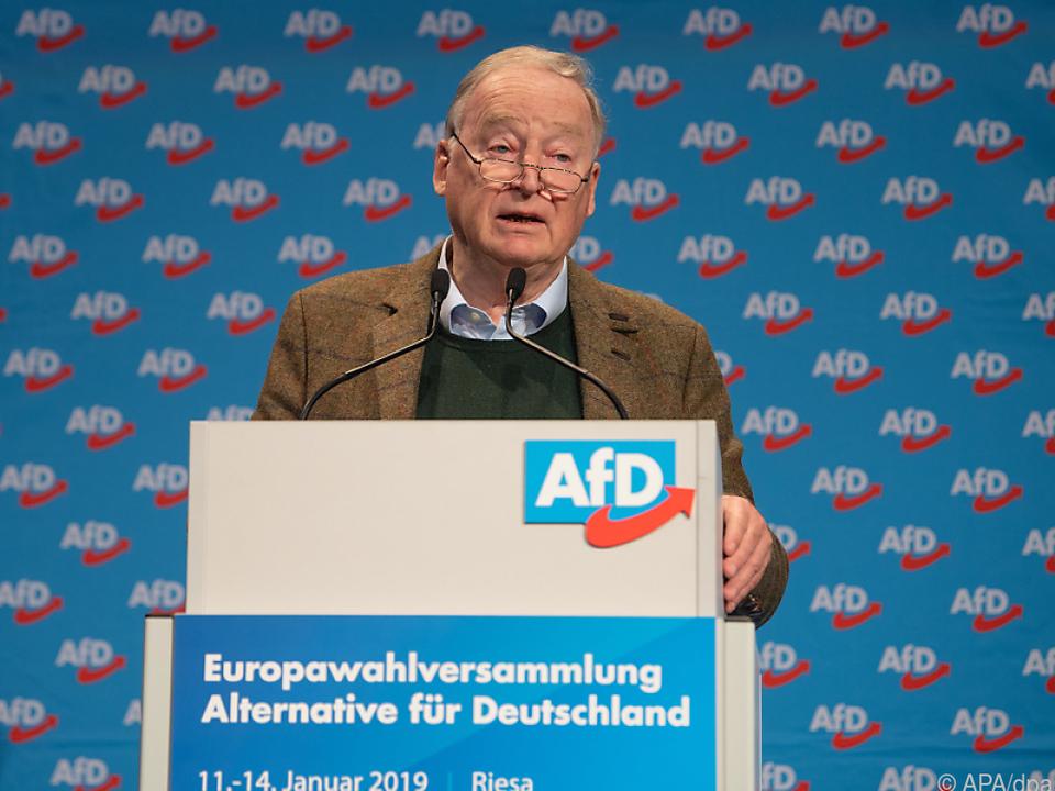 Laut AfD ist das EU-Parlament undemokratisch