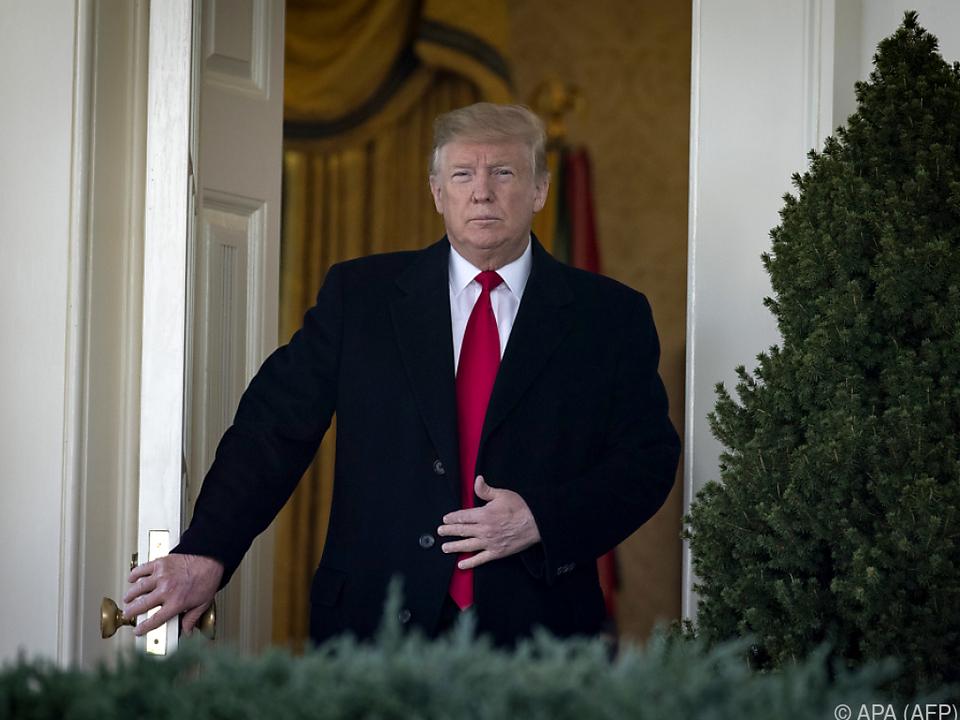 Laut US-Präsident ist ein weiterer Shutdown \