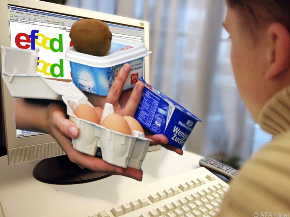 Lebensmittel-Internethandel hinkt den Erwartungen hinterher