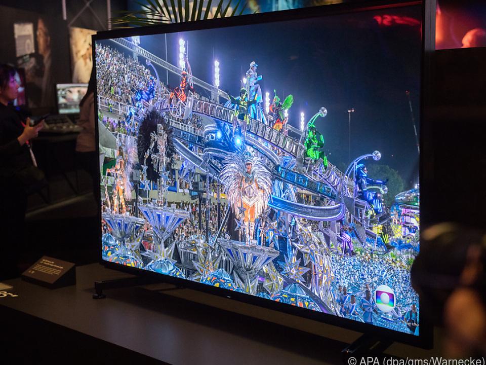 Großes Kino: Sonys neues 8K-TV-Gerät ZG9 in der 85-Zoll-Variante