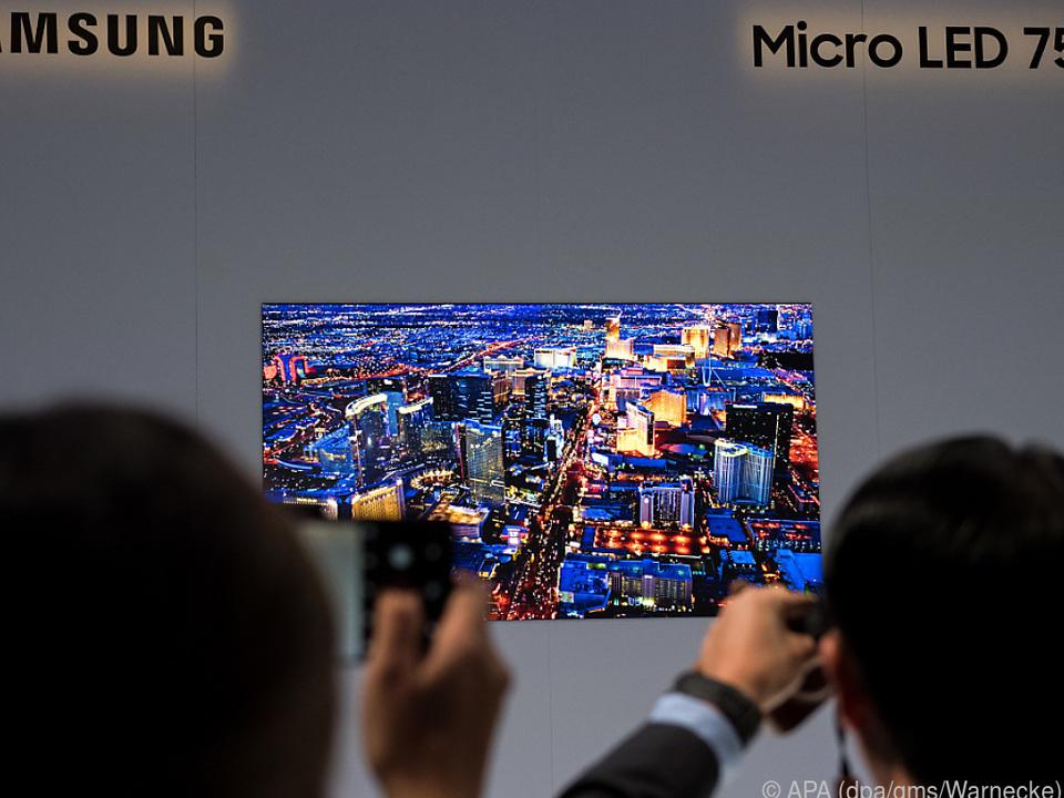 Samsungs Micro LED 75 ist modular aus Displaybausteinen aufgebaut