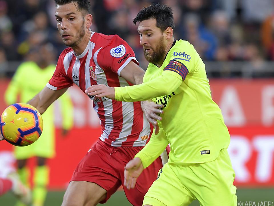 Lionel Messi besorgte in der 68. Minute die Vorentscheidung