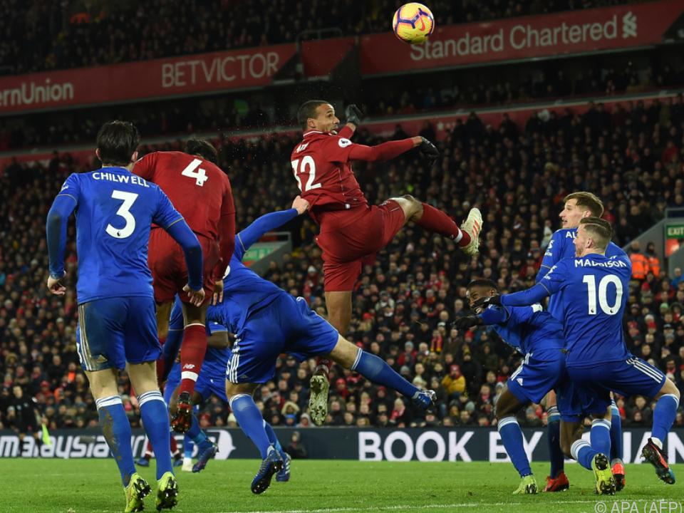 Liverpool tat sich schwer gegen den Ex-Meister