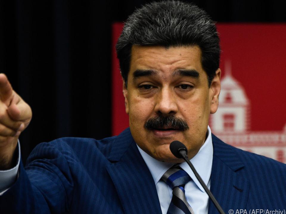 Maduro soll am Donnerstag für eine zweite Amtszeit vereidigt werden