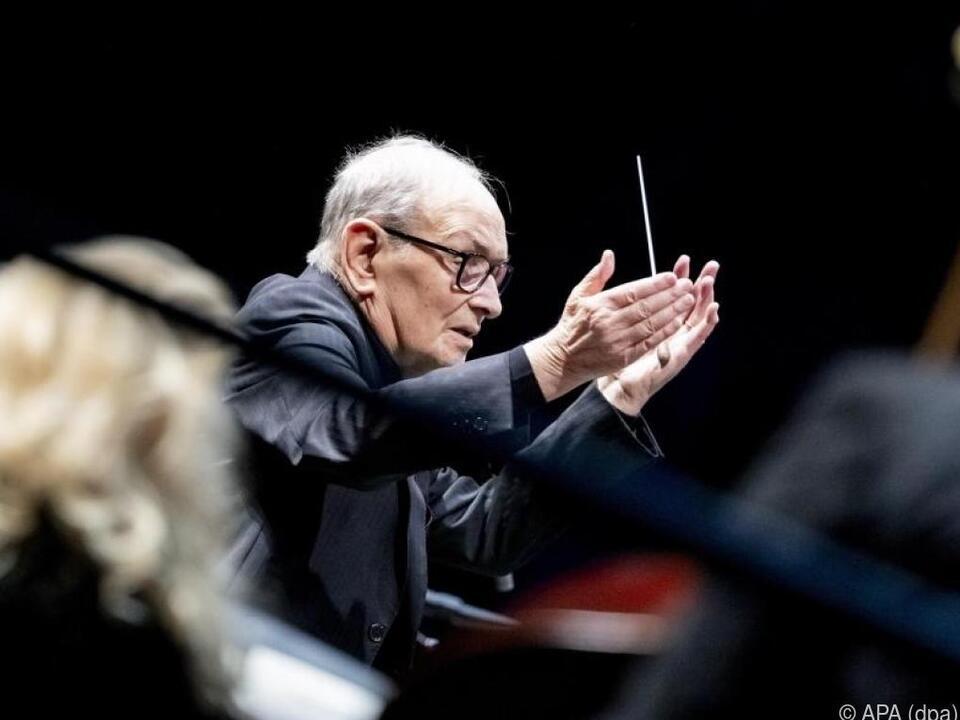 Maestro Ennio Morricone geht mit 90 auf Abschiedstournee