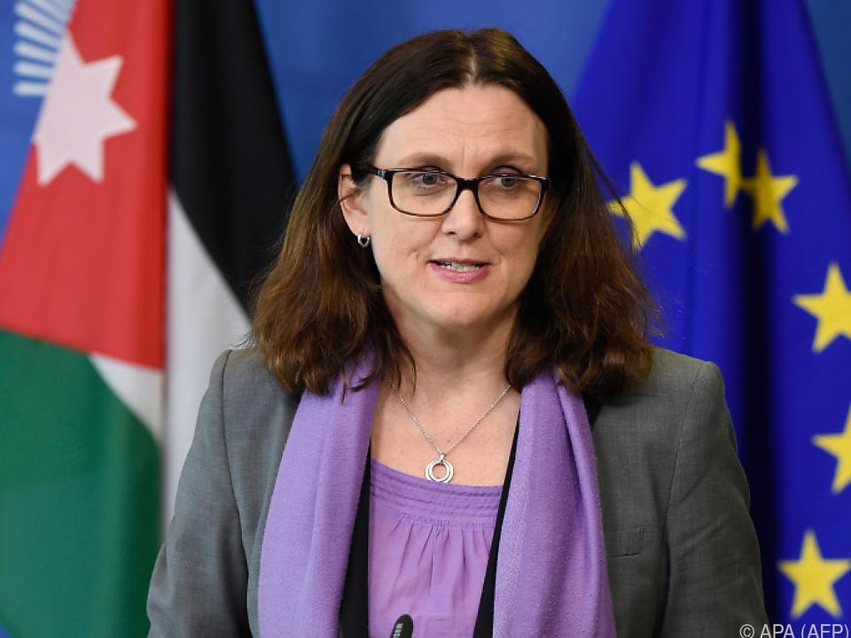 Malmström bezeichnet Zoll-Senkung als \