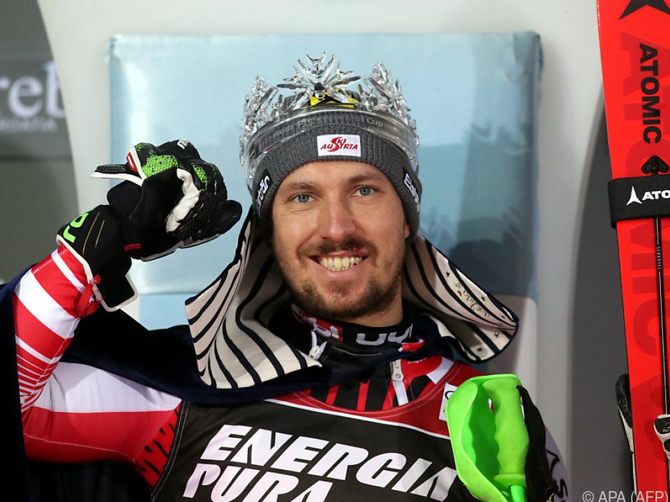 Marcel Hirscher - Slalom-König von Zagreb