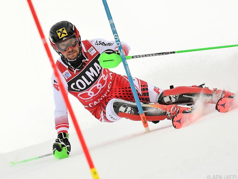 Marcel Hirscher will den nächsten Sieg holen