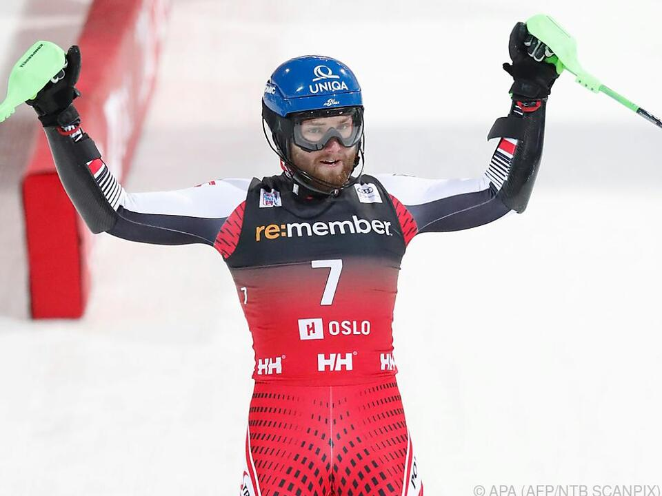 Marco Schwarz auf Erfolgskurs