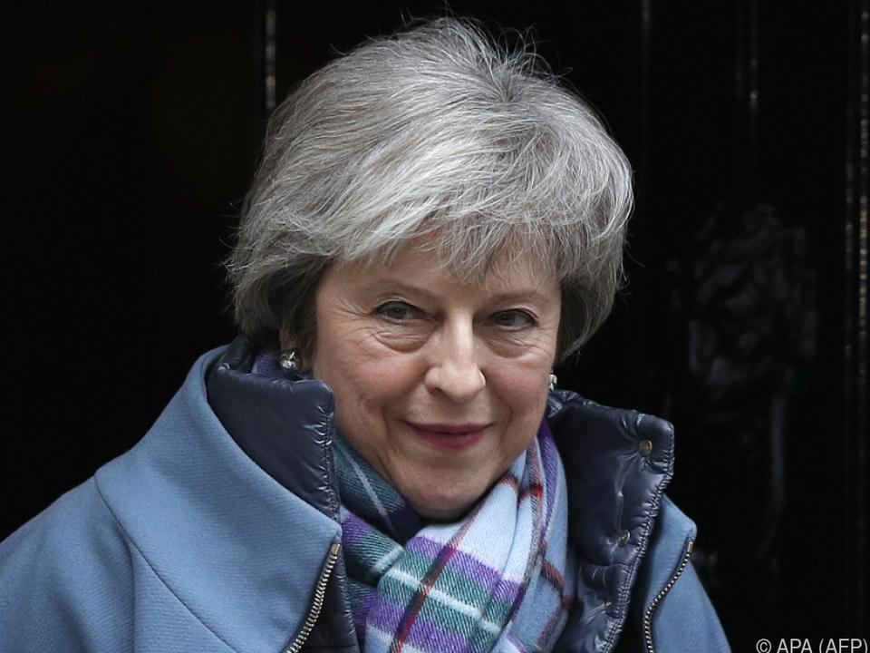 May auf dem Weg ins Parlament