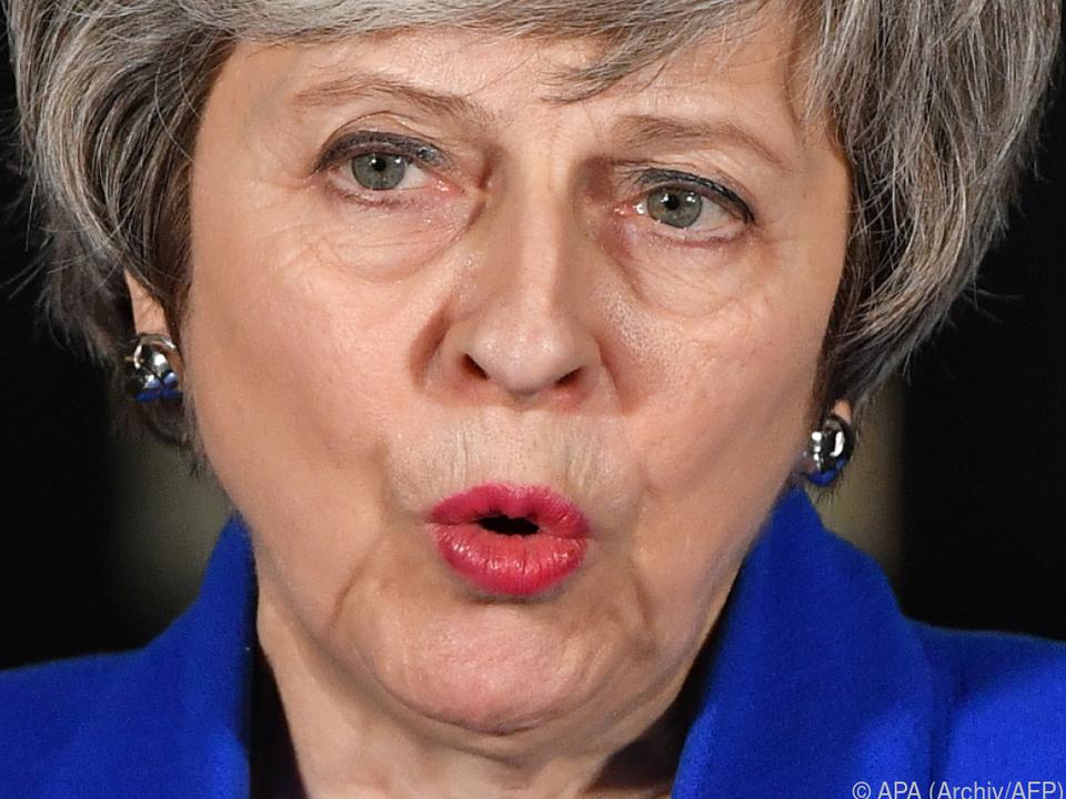 May bleibt im Gespräch mit europäischen Kollegen