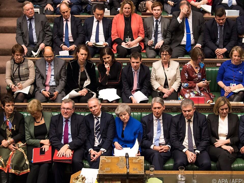 May wird nicht angezweifelt - nur ihr Deal mit der EU