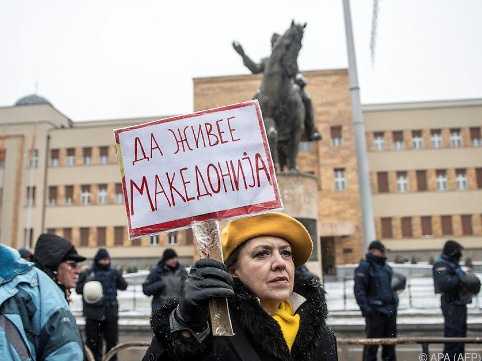 Mazedonien heißt nun \