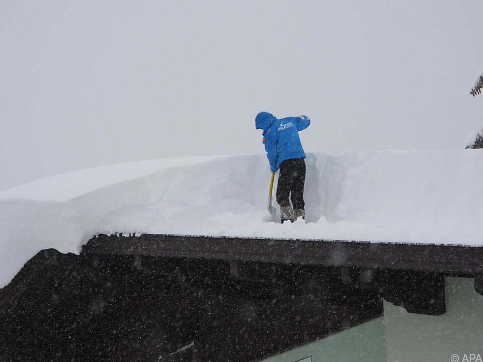 Mehr Schnee wird erwartet