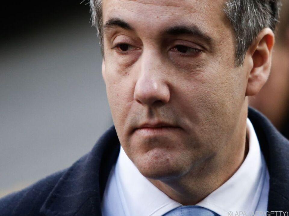 Michael Cohen hatte zuvor einen Termin vor dem Kongress abgesagt