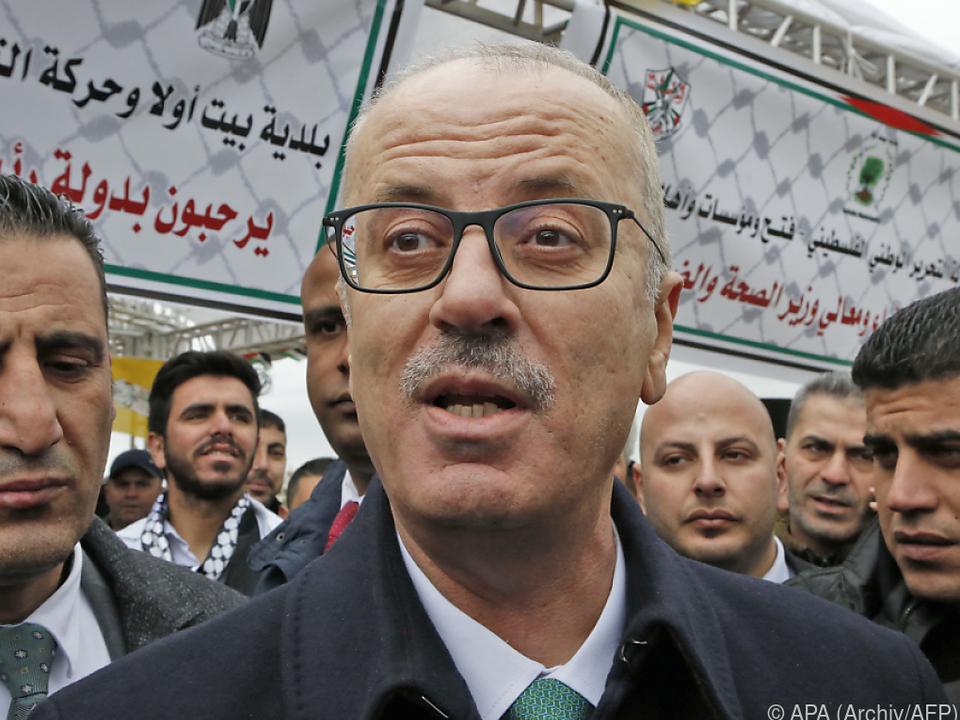 Ministerpräsident Hamdallah gab Weg für neue Regierung frei
