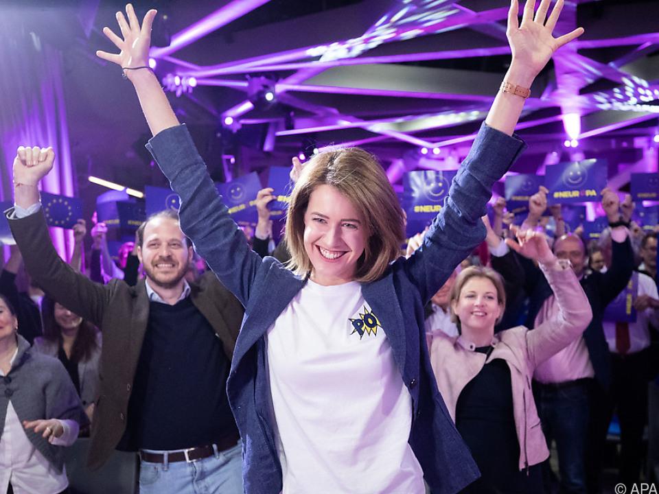 Mit Claudia Gamon bewerben sich auch die NEOS für die EU-Wahl