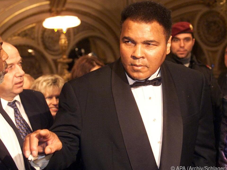 Muhammad Ali starb 2016 im Alter von 75 Jahren