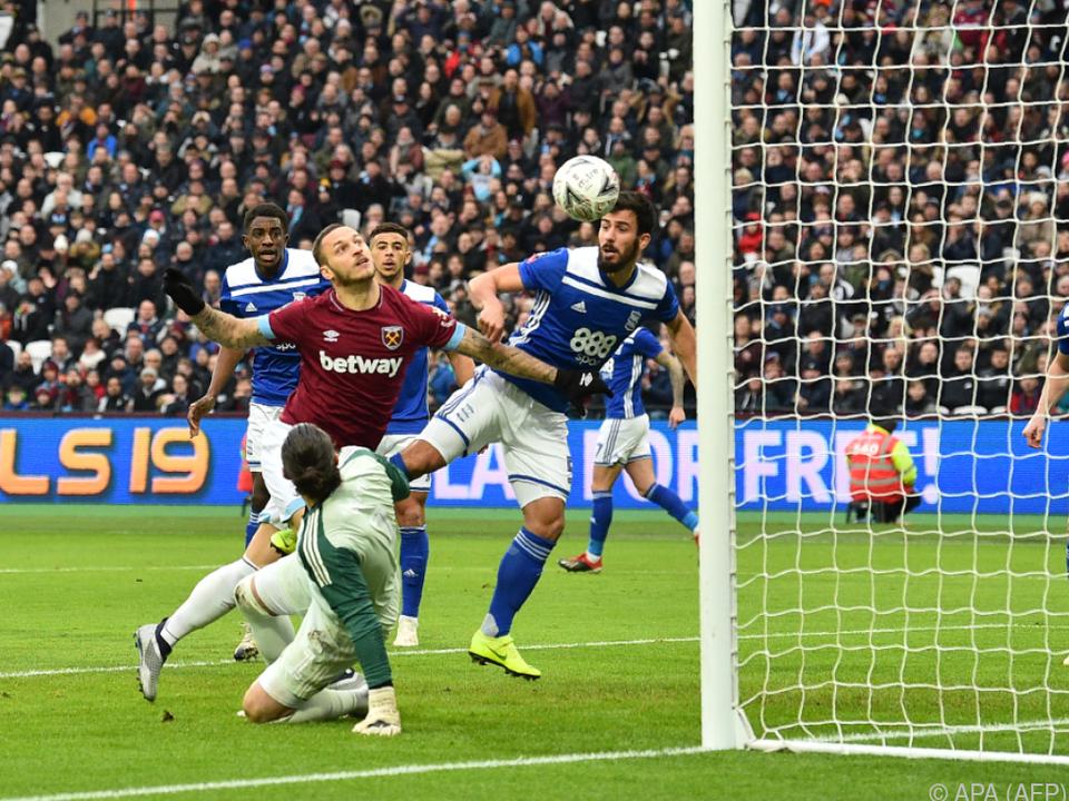 Nächstes Tor von Arnautovic für West Ham