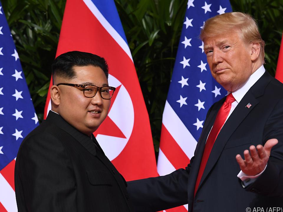 Nächstes Treffen zwischen Kim und Trump geplant