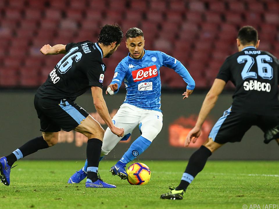 Napoli gewann Spitzenspiel gegen Lazio