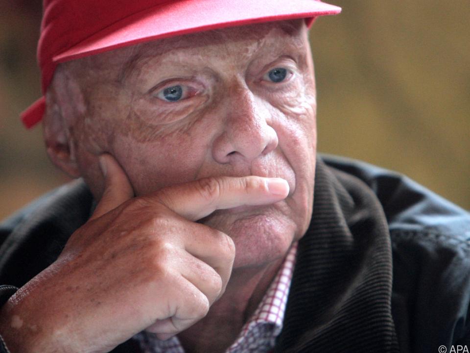 Niki Lauda wird derzeit im AKH in Wien behandelt
