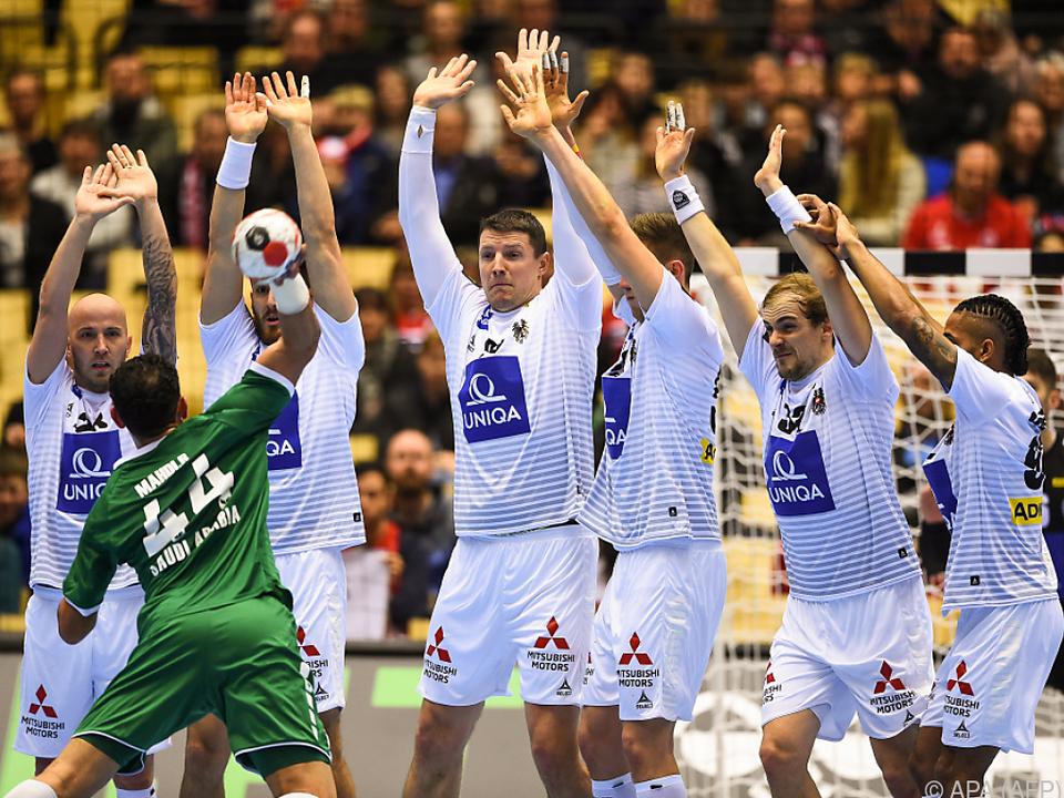 Österreichs Handball-Männer hatte bei der WM einen erfolgreichen Start