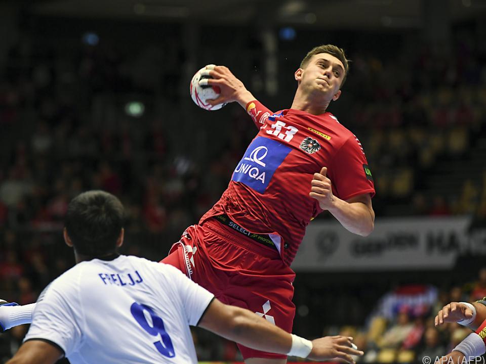 Österreichs Handballer hatten gegen Chile überraschend wenig zu sagen