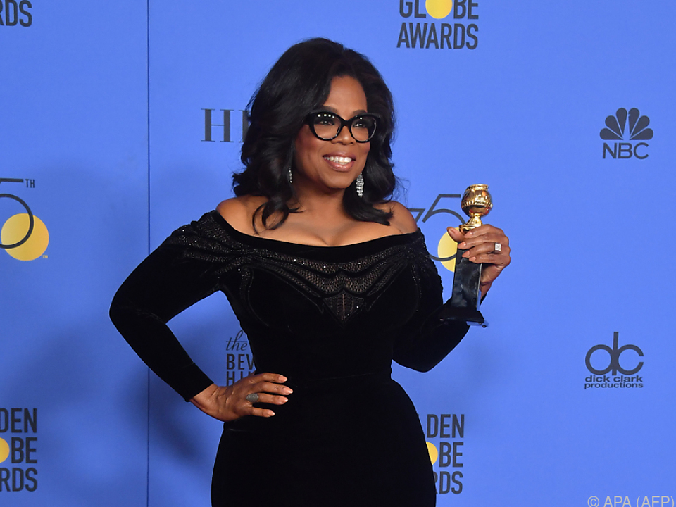 Oprah Winfrey verkörpert den amerikanischen Traum