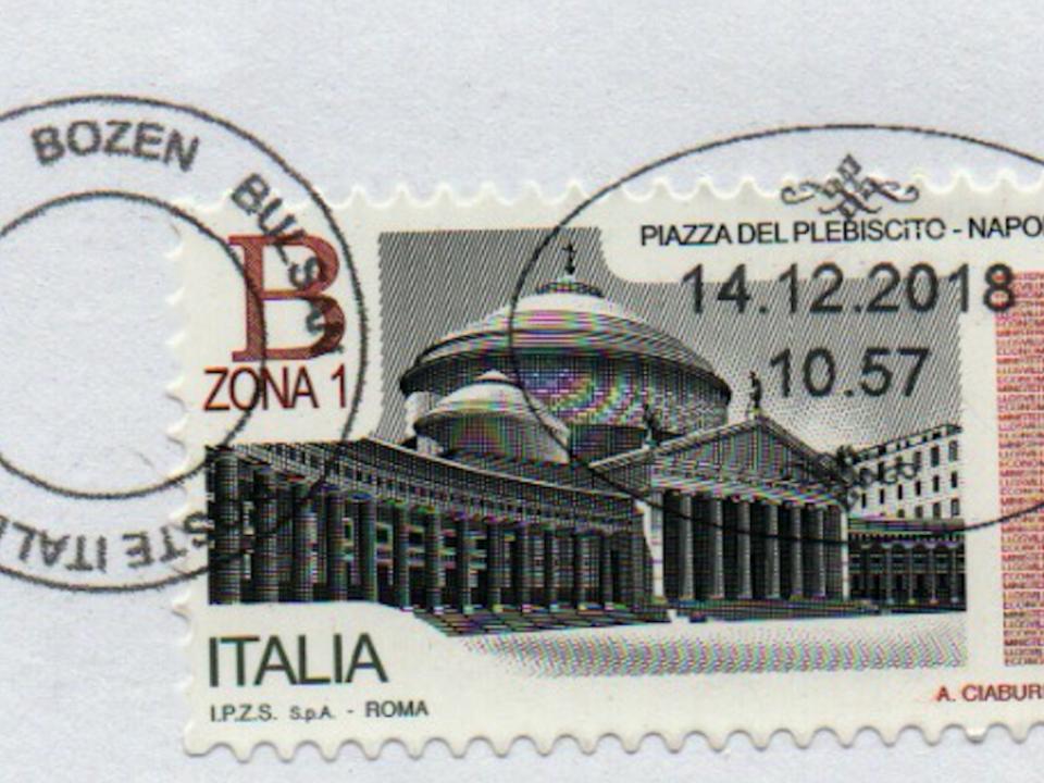 Poststempel Bozen