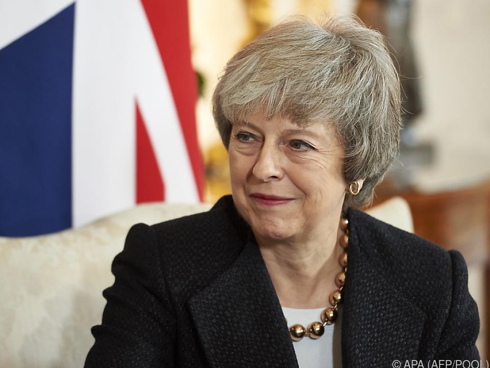 Premierministerin May verschob das Votum