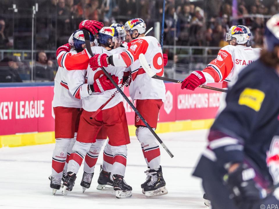Red Bull Salzburg feierte einen Sieg