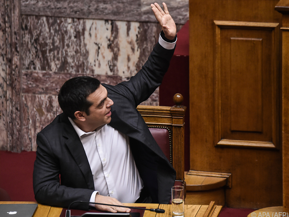 Regierungspartei von Tsipras für Umbenennung