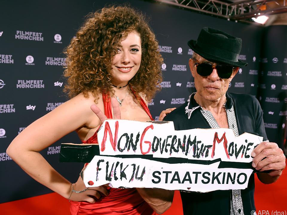 Regisseur Klaus Lemke und seine \