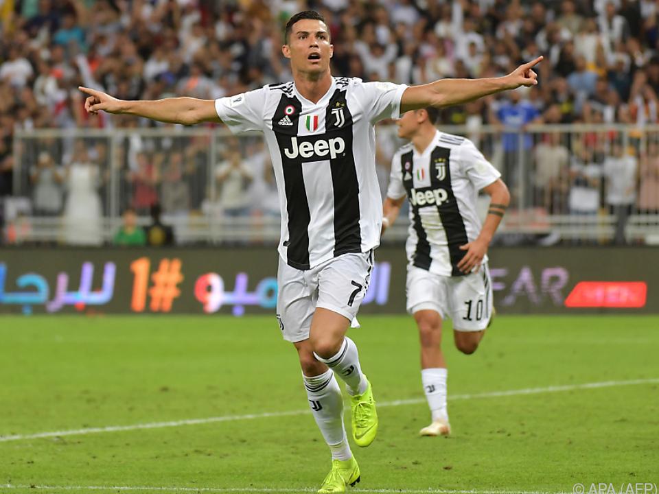 Ronaldo wieder einmal mit wichtigem Tor