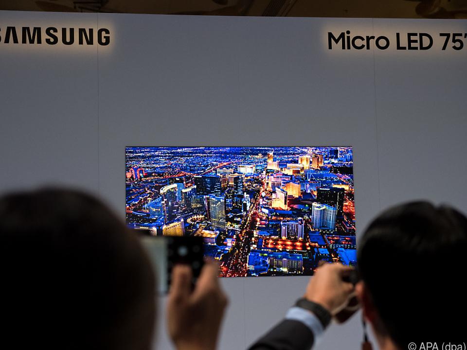 Einen Preis für den Fernseher nannte Samsung noch nicht