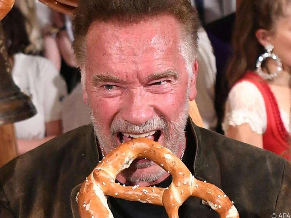 Schwarzenegger hatte sichtlich Spaß