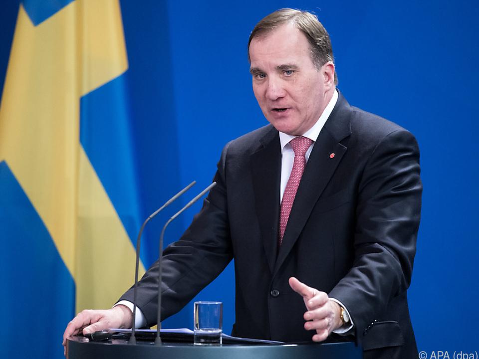 Schwedens Ministerpräsident Stefan Löfven